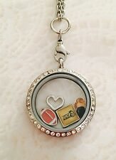 University Of Central Florida Memory Locket Stainless Steel