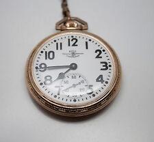 BALL OFFICIAL STANDARD RailRoad Watch 999B 21 JEWEL, 10K GF, Rare Condition! EX