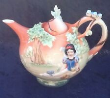 Franz Snow White Teapot Like New IOB 99258 Pristine!