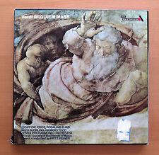 GOS 617-8 Verdi Requiem Mass Leontyne Price Fritz Reiner 2xLP Decca EX/VG