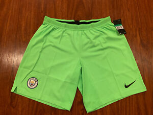 2018-19 Nike Mens Manchester City Away Player Issue Soccer Jersey Shorts XL