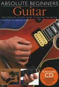 Absolute Beginners Guitar Compact Book/CD Learn to Play Beginner Method