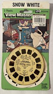 VTV Tyco View-Master Disney's Snow White 3D NOS 1980