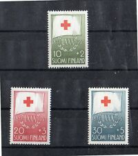 Finlandia Cruz Roja Serie del año 1957 (DH-554)