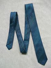Ragazzi Cravatta Vintage Cravatta Età 4-10 Scintillante Verde Blu