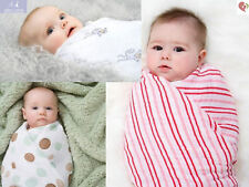 aden and anais breathable muslin 4-pack swaddles: jungle jam
