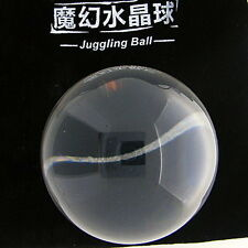 Clear Translucent Acrylic contact Juggling ball 50mm 85g + Protective Pouch