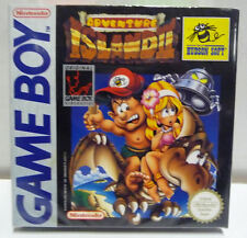 ADVENTURE ISLAND II 2 - GAME BOY GB VERY RARE BOXED