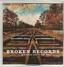 (CO201) Broken Records, You Know You're Not Dead - 2011 DJ CD