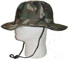 Boonie Fishing Hiking Snap Brim Army Military Bucket Sun Hat Cap-Camo