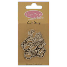 FIZZY MOON CLEAR STAMPS GREAT FOR CRAFTS - FEAST
