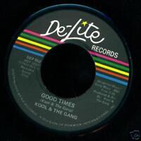 Kool & The Gang Soul 45 Good times on De-Lite   MINT