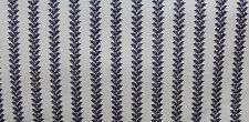 100 % Cotton fabric ~Cream with navy design ~ BTY