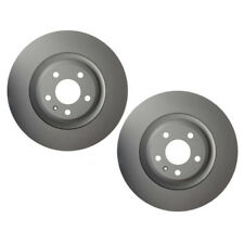 For Audi A4 A5 S4 S5 Pair Set of 2 Front Disc Brake Rotors 345mm ATE Coated