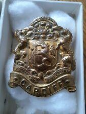 More details for 16th battalion cardiff pals original badge