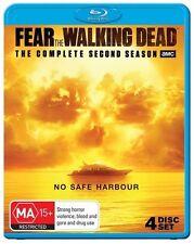 Fear The Walking Dead : Season 2 (Blu-ray, 2017, 4-Disc Set)