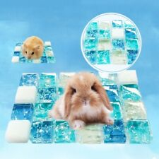 For Hamster Cooling Mat Pet Summer Sleeping Pad Small Animal Cold Bed