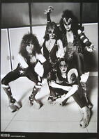 "KISS POSTER ""AMSTERDAM 1976"""