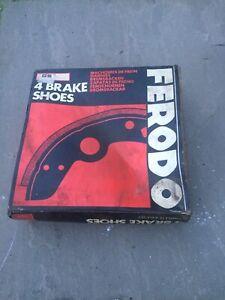 NOS Ferodo GS667 Land Rover 88 Series 11A 111 90 Brake Shoe Set