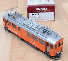 Bemo 1268 193 RhB Bahndiensttriebwagen Xe 4/4, 9923 / Neuwertig / OVp / H0m