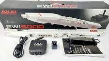 Akai Professional EWI5000 White Wireless, Battery-Powered On-Board Sound Library