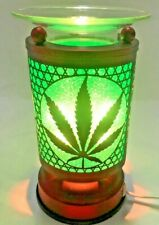 Electric Touch Fragrance Lamp/Oil Burner/Wax Warmer/Night Light /Marijuana Leaf