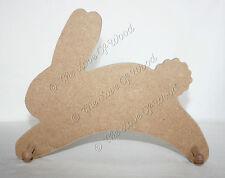 La ejecución de forma artesanal de madera colgador de conejo Mdf 12mm de espesor bebé vivero