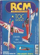 RCM N°237 PLAN : SCUD II / MAGNUM 45 WESTON UK / PICCOLO IKARUS / TINY TODD'S