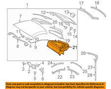 MERCEDES OEM 05-06 SLK55 AMG Retractable Top-Frame Right 1717900401