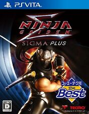 Used PS Vita NINJA GAIDEN SIGMA PLUS - Koei the Best Japan Import