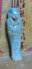 Ancient Ushabti Egyptian Egypt Antique Shabti Faience Stone Affordable Servant