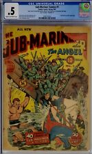 SUB-MARINER COMICS #1 CGC .5 GOLDEN AGE TIMELY