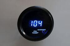 """2"""" Digital oil Temperature Meter Blue LED Display Smoke Lens 104 - 300 F"""