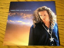 """SIMPLY RED - YOUR MIRROR   7"""" VINYL  PS"""