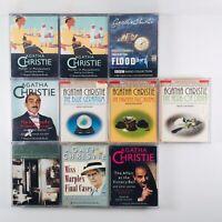 Agatha Christie 9 Audiobook Collection Cassette Tape Set inc The Blue Geranium