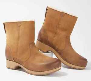 Dansko Bettie Honey Burnished Nubuck Women's Boot - NEW - Choose Size