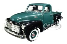 1950 GMC PICKUP TRUCK DARK GREEN 1/18 DIECAST MODEL CAR BY ROAD SIGNATURE 92648