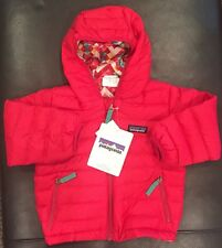 NWTs Patagonia Baby Girl's Reversible Down Sweater Hoody. 2T. Rossi Pink. $119.