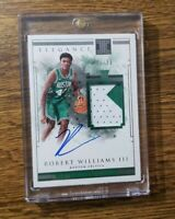 Robert Williams III 2018-19 Panini Impeccable RPA Auto Patch 137 41/99 Rookie RC