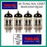 New 4x Tung-Sol 12AX7 / ECC83 | Matched Quad / Quartet / Four Tubes | Free Ship