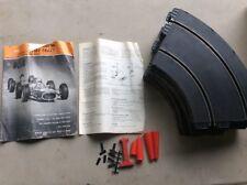 Strombecker Slot Car 16 Track Sections & Magazine