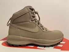 Nike manoadome Zapatillas/botas Talla UK 10 EUR 45 Caqui 844358 200 Nuevo