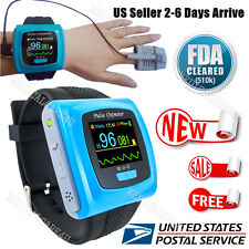 US Seller Wrist Pulse Oximeter Watch Blood Spo2 Monitor Sleep Oximetry CE/FDA