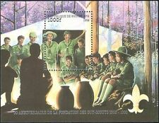 Guinea 1998 Scouts 90th Anniversary/Scouting/Camp/Fire/Youth 1v m/s (b3814)