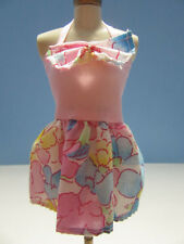 Barbie Clone Pink Floral Sundress No Label