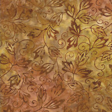 Bronze Color Crush Batiks by Moda Fabrics HALF YARD