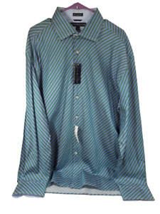 Tommy Hilfiger Men's Long Sleeve Shirts Size XL 100's 2 ply fabric Button-down
