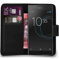 Case Cover For Sony Xperia M2 M4 M5 C4 Magnetic Flip Leather Wallet Phone book