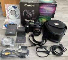 Canon Powershot Pro 1 8.0mp Digital SLR Camera & Charger, Case, battery - Boxed