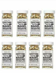 8 PACK Trader Joe's Everything But the Bagel Seasoning Blend 2.3 oz Each